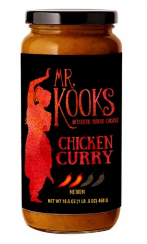 Mr. Kook's Medium Spicy Chicken Curry Perspective: front