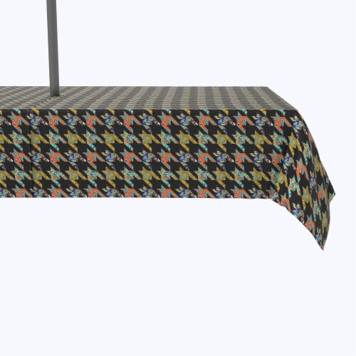 """Water Repellent, Outdoor, 100% Polyester, 60x84"""", Paisley Patchwork Perspective: front"""