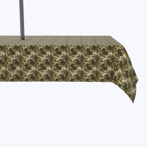 """Water Repellent, Outdoor, 100% Polyester, 60x104"""", Safari Animal Print Perspective: front"""