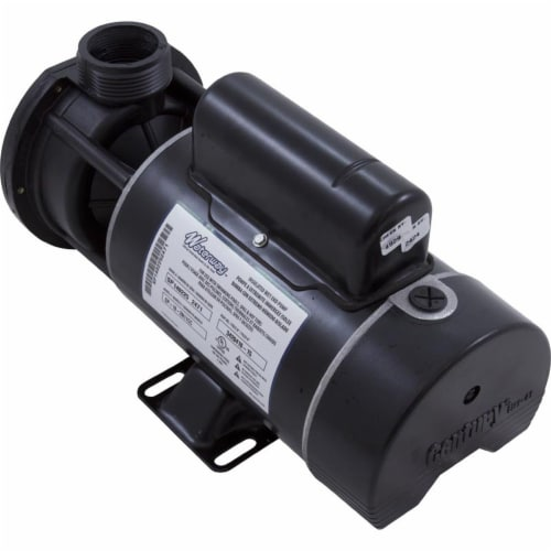 Gecko Alliance 3420410-15 Pump Center Discharge 120V 1.0 HP 2 Speed 48 Fream Perspective: front