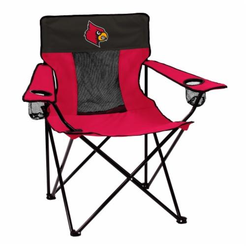 Louisville Cardinals Elite Chair Perspective: front