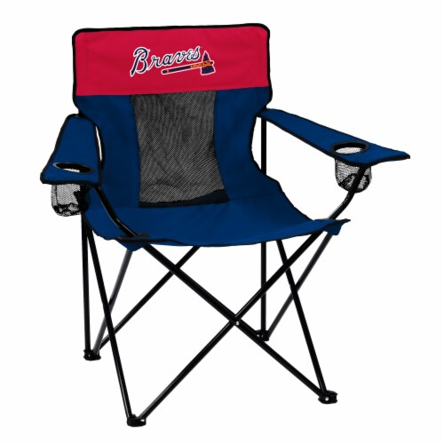 ATL Braves Elite Chair Perspective: front