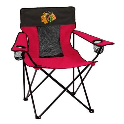 Chicago Blackhawks Elite Chair Perspective: front