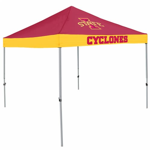 IA State Cyclones Economy Tent Perspective: front