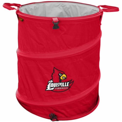 Louisville Cardinals Collapsible Multipurpose Container Perspective: front