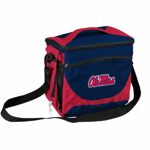 Ole Miss 24-Can Cooler Perspective: front