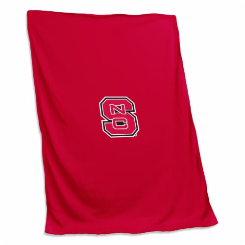 NC State Sweatshirt Blanket Perspective: front