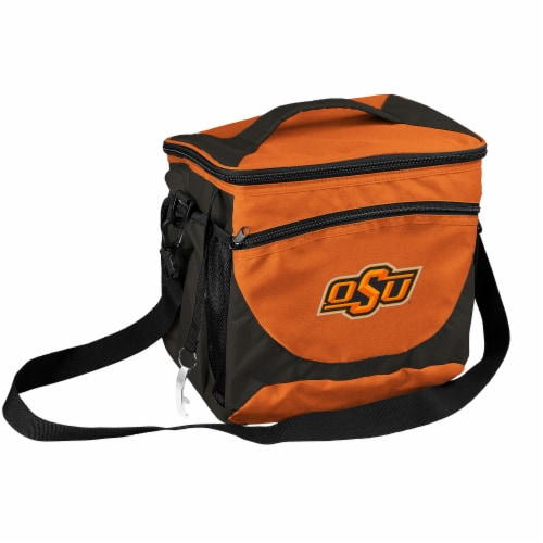 OK State 24-Can Cooler Perspective: front