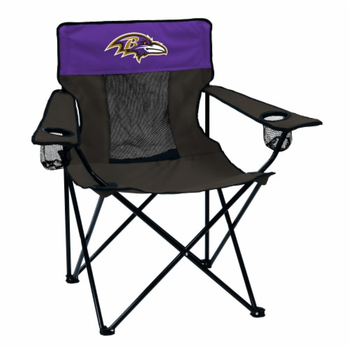 Baltimore Ravens Elite Chair Perspective: front