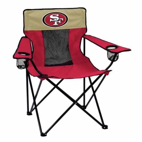SF 49ers Elite Chair Perspective: front