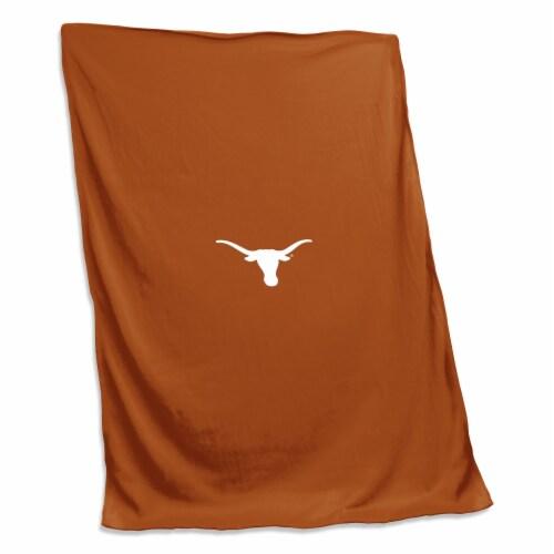 Texas Sweatshirt Blanket Perspective: front