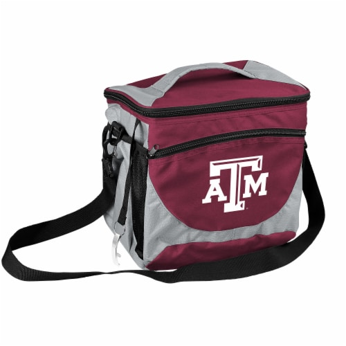 Texas A&M 24-Can Cooler Perspective: front