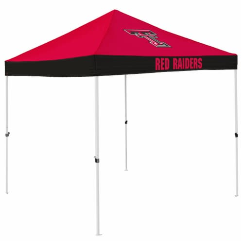 Texas Tech Red Raiders Economy Tent Perspective: front
