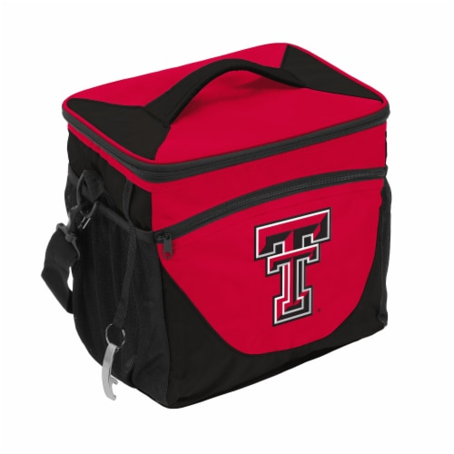 Texas Tech 24-Can Cooler Perspective: front
