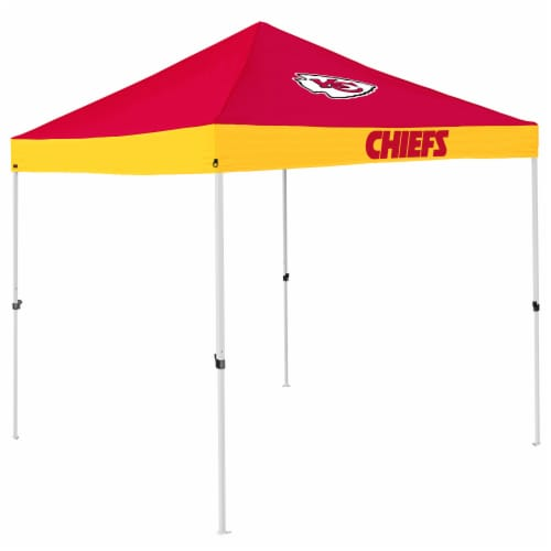 KC Chiefs Economy Tent Perspective: front