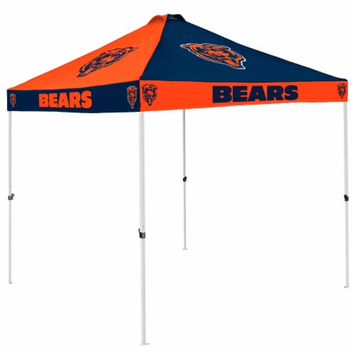 Chicago Bears Tent Perspective: front