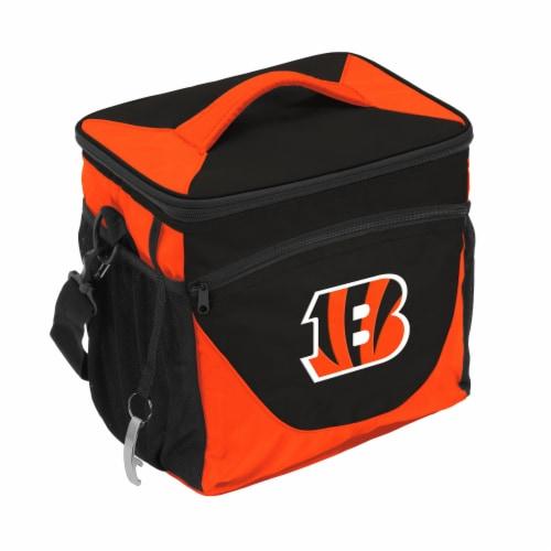 Cincinnati Bengals 24-Can Cooler Perspective: front