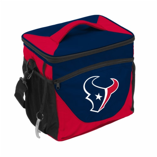 Houston Texans 24-Can Cooler Perspective: front