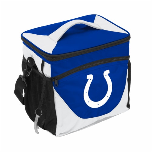 Indianapolis Colts 24-Can Cooler Perspective: front