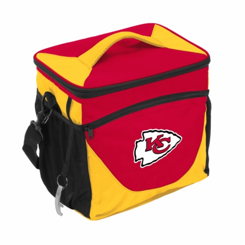 KC Chiefs 24-Can Cooler Perspective: front