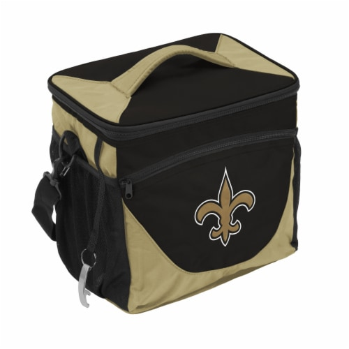 New Orleans Saints 24-Can Cooler Perspective: front