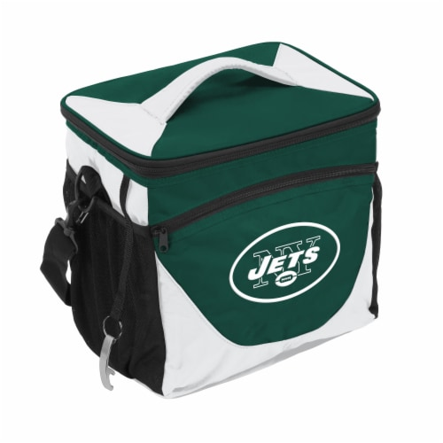 New York Jets 24-Can Cooler Perspective: front