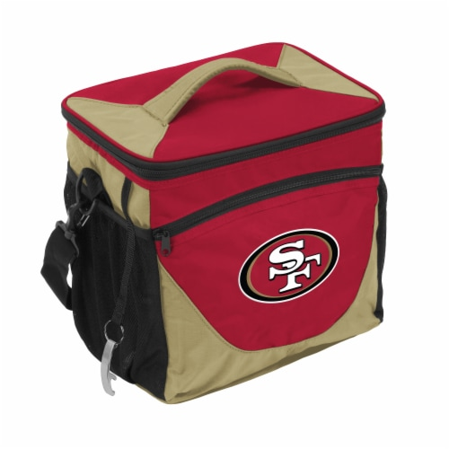San Francisco 49ers 24-Can Cooler Perspective: front