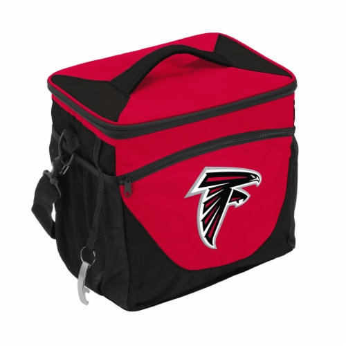 Atlanta Falcons 24-Can Cooler Perspective: front