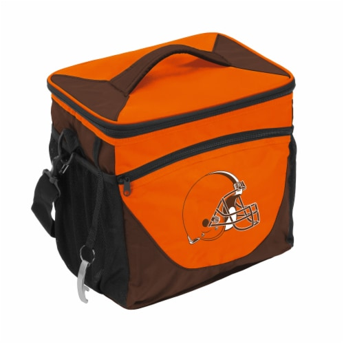 Cleveland Browns 24-Can Cooler Perspective: front