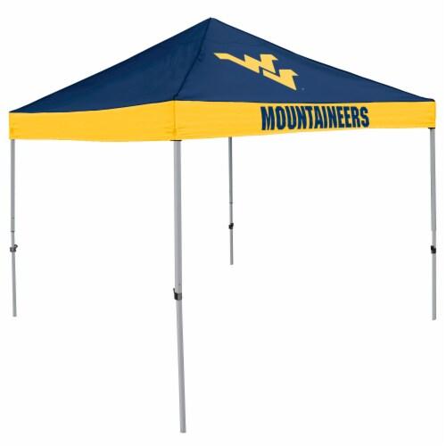 West Virginia Mountaineers Economy Tent Perspective: front
