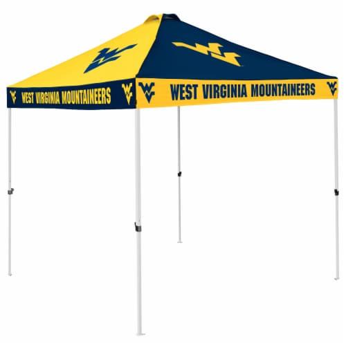 West Virginia Mountaineers Tent Perspective: front