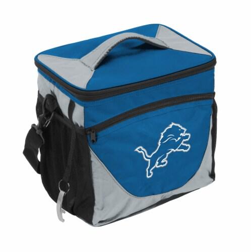 Detroit Lions 24-Can Cooler Perspective: front
