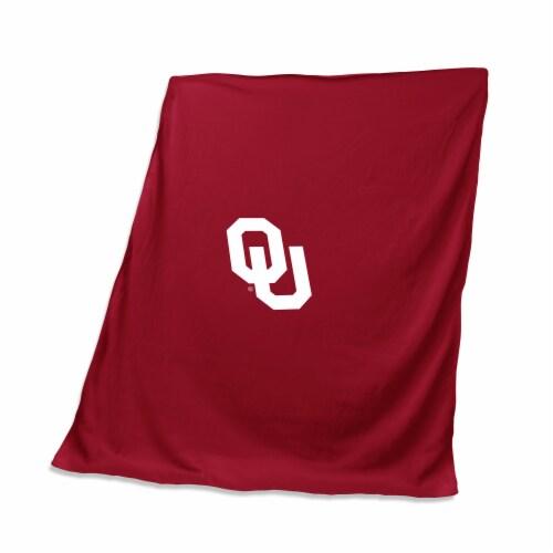 Oklahoma Sweatshirt Blanket Perspective: front