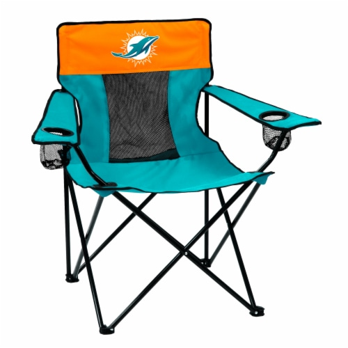 Miami Dolphins Elite Chair Perspective: front