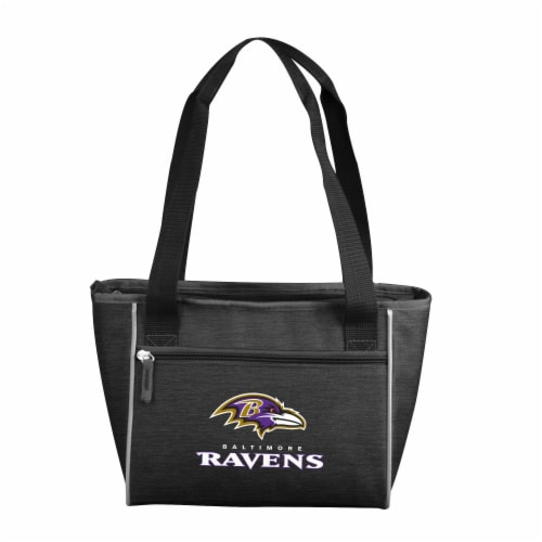 Baltimore Ravens 16-Can Cooler Perspective: front
