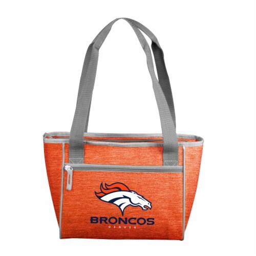 Denver Broncos 16-Can Cooler Perspective: front