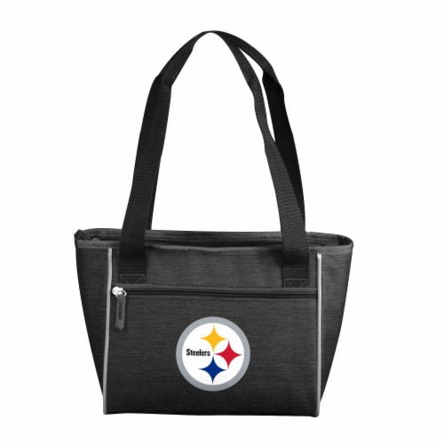 Pittsburgh Steelers 16-Can Cooler Perspective: front