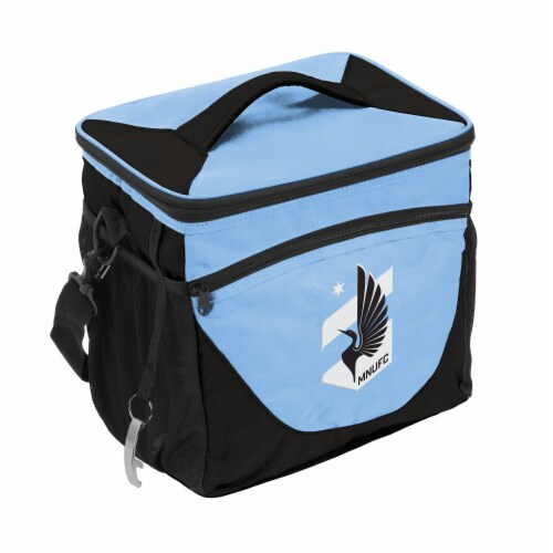 Minnesota United 24-Can Cooler Perspective: front