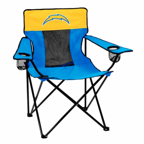 LA Chargers Classic Mark Elite Chair Perspective: front