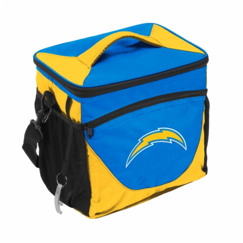 LA Chargers Classic Mark 24-Can Cooler Perspective: front