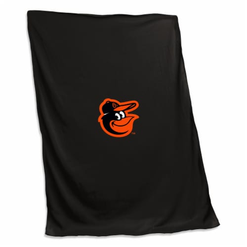 Baltimore Orioles Sweatshirt Blanket Perspective: front