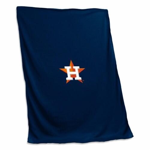 Houston Astros Sweatshirt Blanket Perspective: front