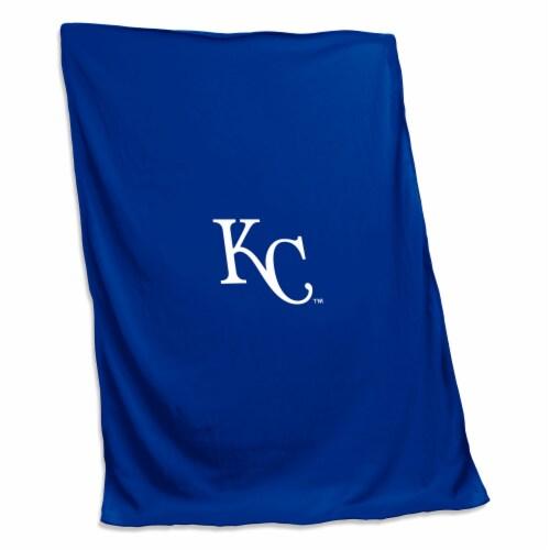 KC Royals Sweatshirt Blanket Perspective: front