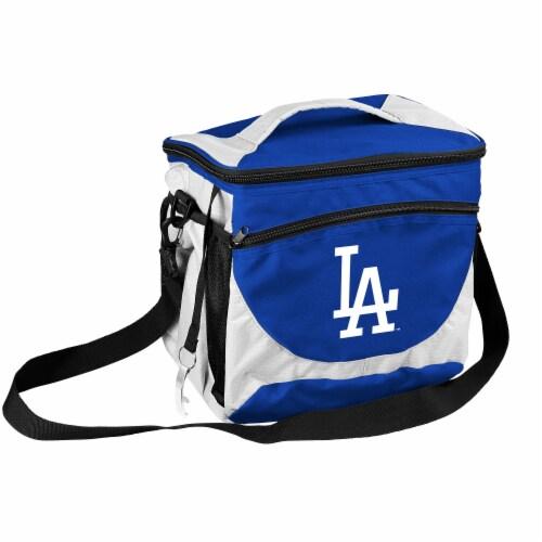 LA Dodgers 24-Can Cooler Perspective: front