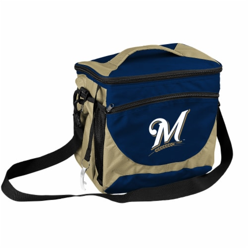 Milwaukee Brewers 24-Can Cooler Perspective: front