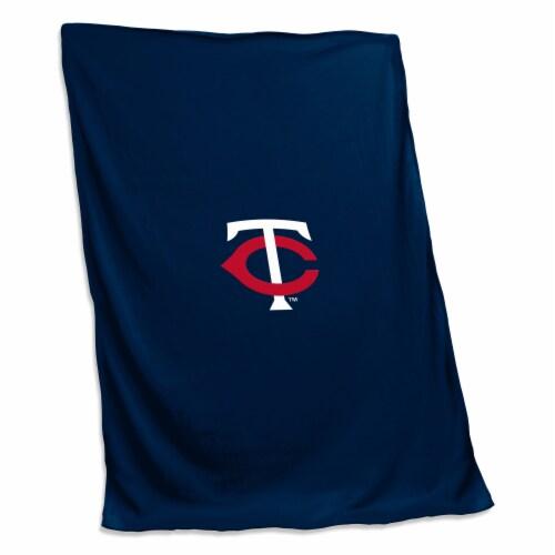 Minnesota Twins Sweatshirt Blanket Perspective: front