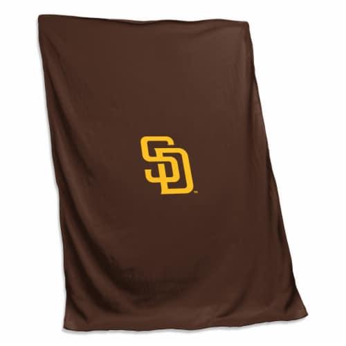 San Diego Padres Sweatshirt Blanket Perspective: front