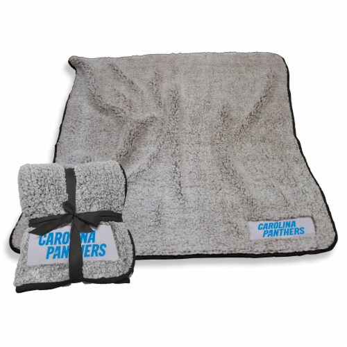 Carolina Panthers Frosty Fleece Perspective: front