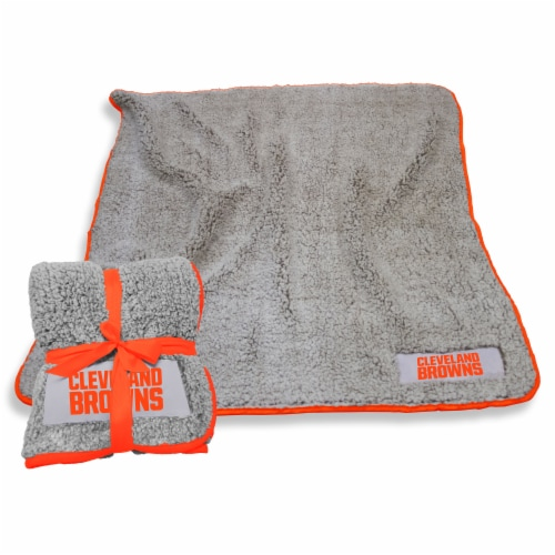 Cleveland Browns Frosty Fleece Perspective: front
