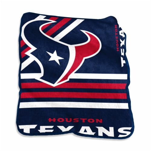 Houston Texans Raschel Throw Blanket Perspective: front